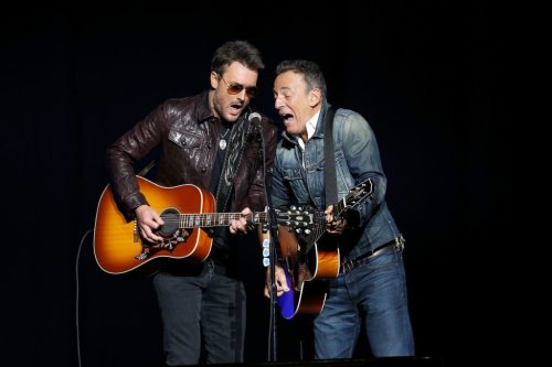 "Eric Church Joins Bruce Springsteen For ""Working On The Highway"" Duet"