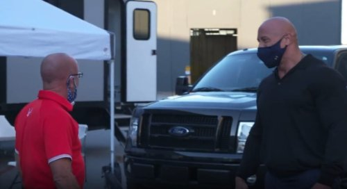 The Rock Gifts Brand New Truck To Childhood Friend That Bought Him His First Car