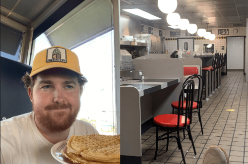 Mississippi Man Eats 9 Waffles, Spends 15 Hours At Waffle House After Losing His Fantasy Football League