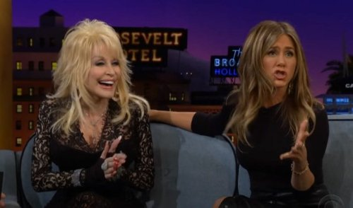 Dolly Parton Once Said Her Husband Fantasized About A Threesome With Jennifer Aniston