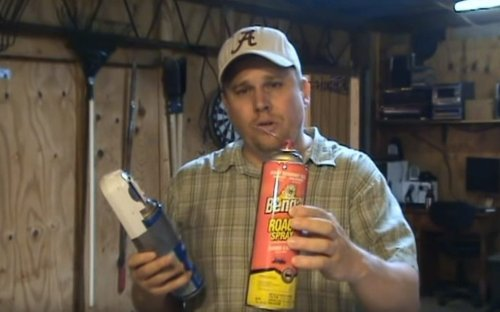 Redneck Hack Teaches You How To Fight Wasps With An Automatic Air Freshener