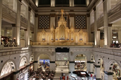 Largest pipe organ in the world celebrates itself on its 110th birthday