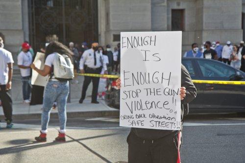Philadelphia's gun violence epidemic, still at historic levels, eases up a bit
