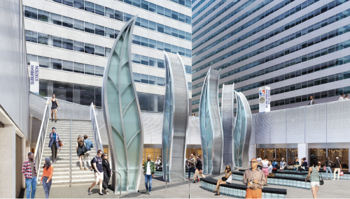 Bleak plaza across from Philly's City Hall moves toward $8.7M makeover