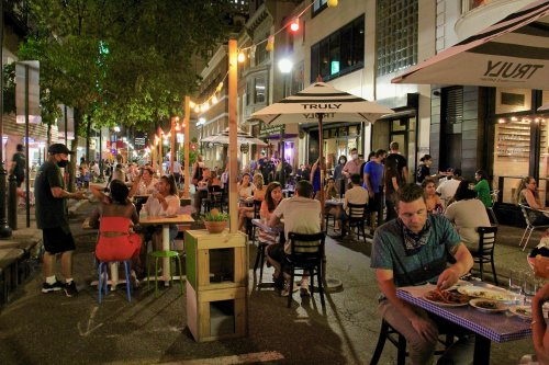 Opinion: Eating in the streets revealed how we need to change dining room culture