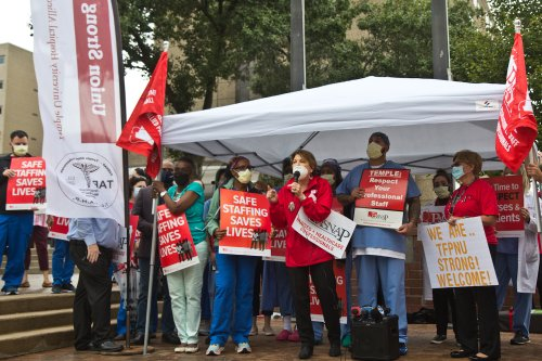 'People called us heroes': Pa. nurses sound the alarm on unsafe working conditions