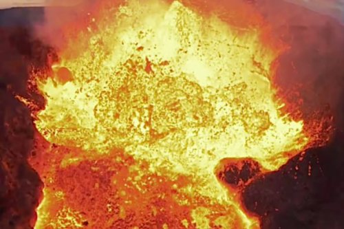 Volcanic Eruption Claims Drone That Flies Too Close to the Lava