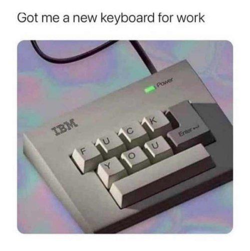 Die einzige Tastatur, die man braucht