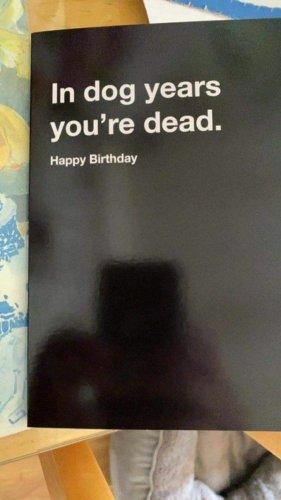 Beste Geburtstagskarte ever