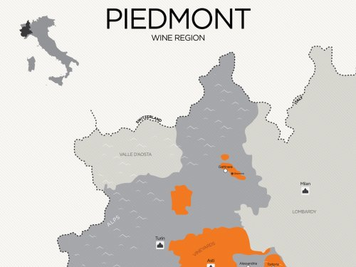 Essential Guide to Piedmont Wine (with Maps) | Wine Folly