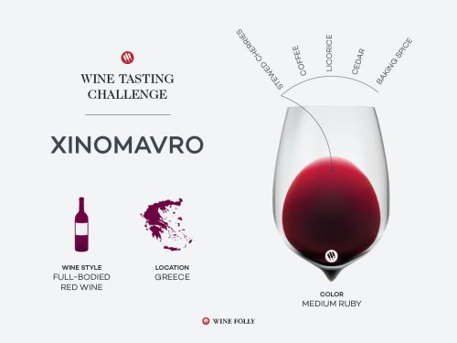 Tasting Challenge: Greek Xinomavro | Wine Folly