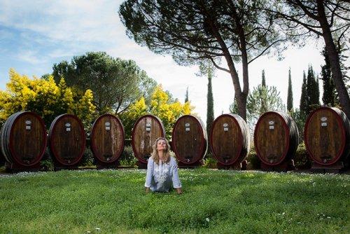 How Wine Professionals Use Yoga to Balance Life