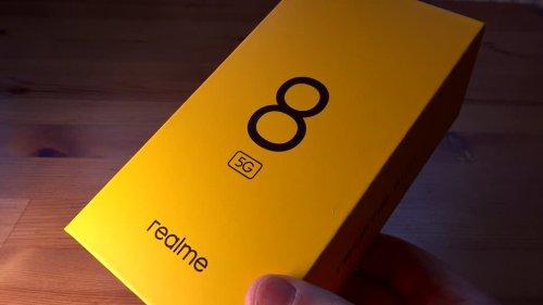 Realme 8 5G: 5G-Smartphones kommen jetzt bei unter 200 Euro an
