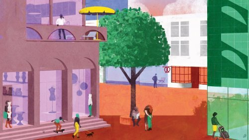 This is what the high street of the future will look like