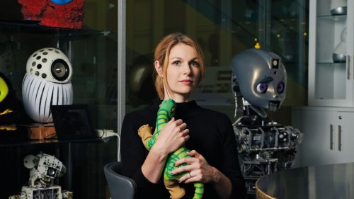 Robots are animals, not humans