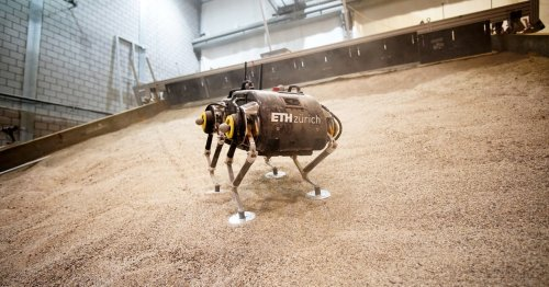 How Do You Make a Robot Walk on Mars? It's a Steep Challenge