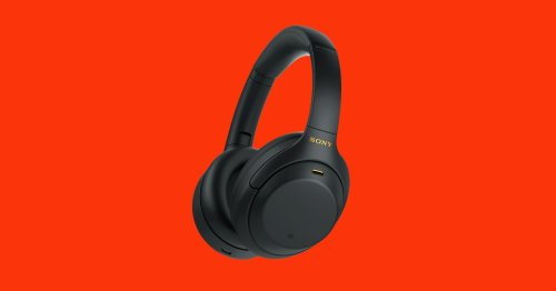 Sony's WH-1000XM4 Noise-Canceling Headphones Are $100 Off