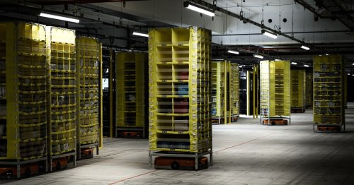 As Amazon Workers Organize, They Stress: 'We Are Not Robots'