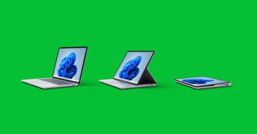 Everything Microsoft Announced, Including a Wacky Flippy Laptop