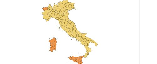 Quasi tutta Italia in zona gialla: i colori delle Regioni dal 10 maggio