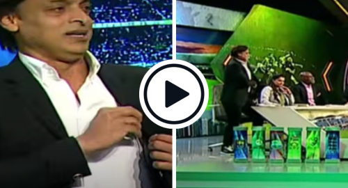 Shoaib Akhtar Walks Off and Resigns Mid-Show After Claiming He Was Disrespected By Anchor
