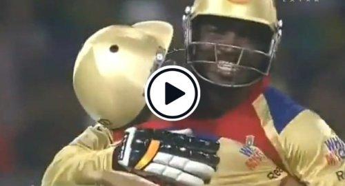 Watch: Selfless Virat Kohli Helps Chris Gayle Get His First IPL Century