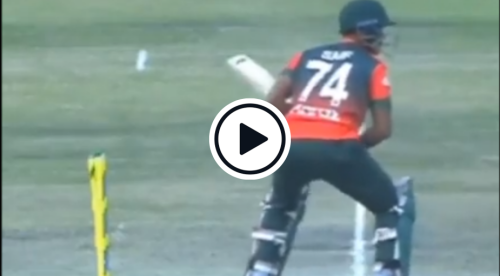 Watch: 'First Ever Wicket Taken By A Ghost' - Spooky Stump Disturbance Leads To Strange Hit-Wicket Review