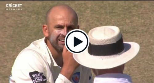 Watch: 'He's Got A Bat' - Nathan Lyon Muttering Caught On Stump Mic After Labuschagne Pads Up