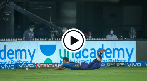 Watch: Krunal Pandya Left Non-Plussed After Hilarious Trent Boult Slip'n'Slide Boundary Stop Fail