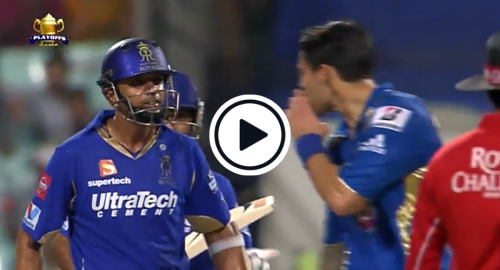 Watch: Angry Rahul Dravid Responds To Johnson's Sledge, First With Words And Then With Bat