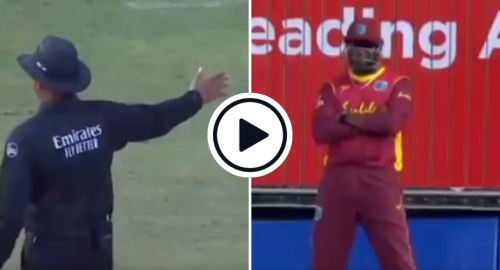 Watch: Pollard Stands Behind Boundary After Free-Hit Prevents Field Change