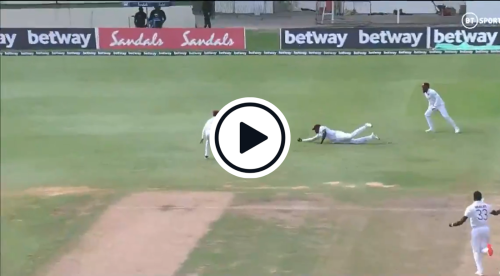 Watch: Jason Holder Takes One-Handed, Diving Stunner In The Slips Against South Africa