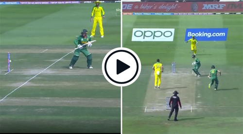 Watch: 'He Watched It In Slow-Motion' - Quinton De Kock Stands Frozen As Ball Rolls Onto Stumps In Freak T20 World Cup Dismissal