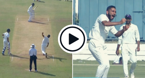 Watch: India's New Test Recruit Arzan Nagwaswalla's Fiery Ranji Spell