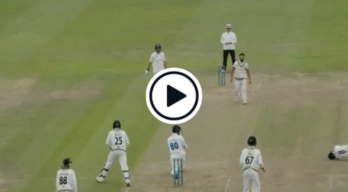 Watch: Pakistan Spinner Zafar Gohar Takes Bizarre Wicket In Yet Another County Five-For