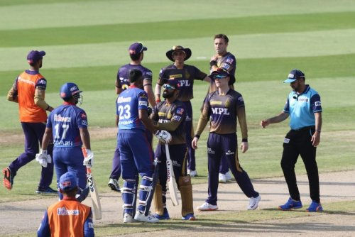 Southee, Ashwin, Morgan Involved In Heated Exchange During IPL Clash