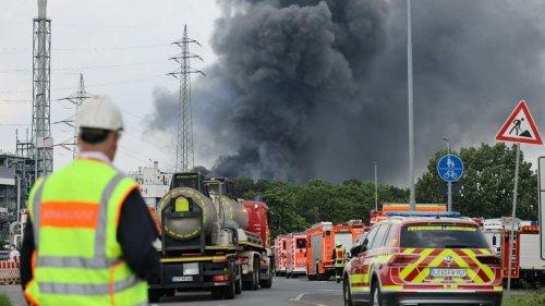 Explosion in Leverkusen: Abfälle kamen aus Agrar-Chemie-Produktion