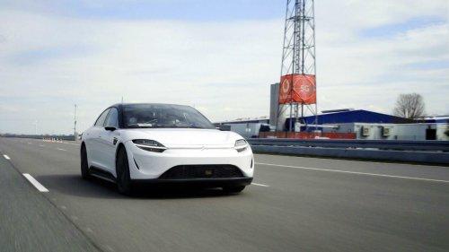 Sony testet Auto-Prototypen mit 5G-Datenfunk von Vodafone