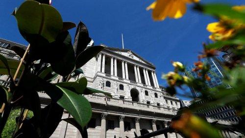 Anleger rechnen mit Doppelschlag bei Leitzins in Großbritannien noch 2021