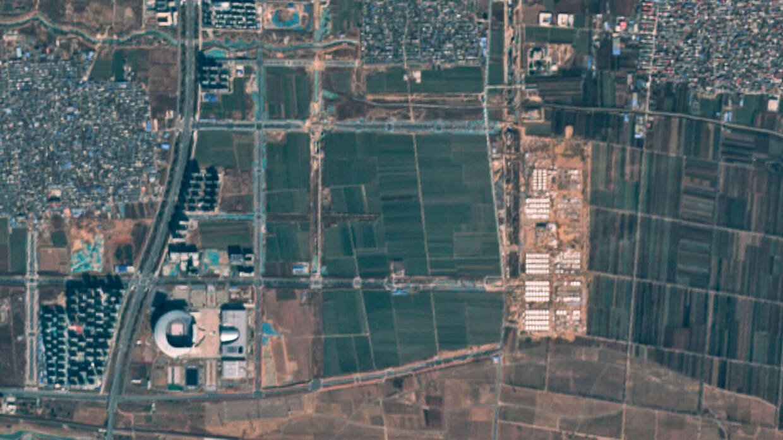 Mit diesem Quarantäne-Dorf will China eine erneute Ausweitung stoppen