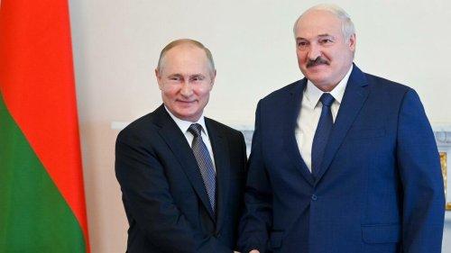 Russland und Weißrussland planen gemeinsames Manöver im September