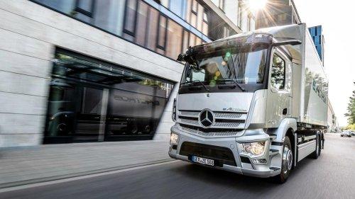 Daimler will nach Aufspaltung 35 Prozent an Truck-Geschäft halten