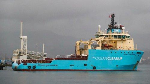 Ocean Cleanup: 29 Tonnen Plastikmüll im Pazifik eingesammelt