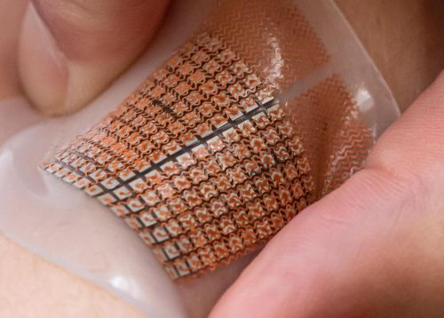 Soft skin patch could provide early warning for strokes, heart attacks