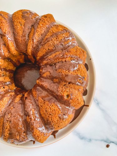 Recipe: Sourdough Discard Banana Bundt Cake