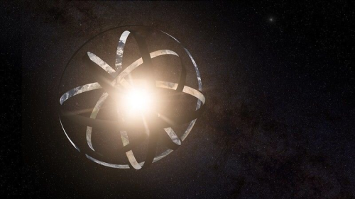 Advanced civilizations could be using Dyson spheres to collect energy from black holes