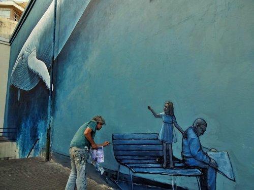 Surrealism of Marcos Milewski. Argentinian man in Portugal.