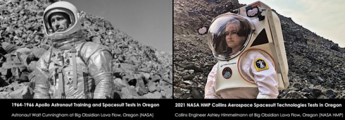New spacesuit technologies for Moon and Mars exploration developed