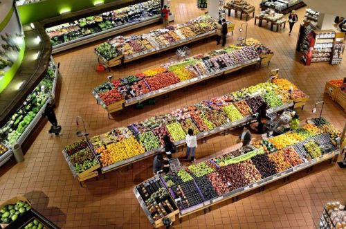 Supermarket layouts can promote healthier food-buying habits