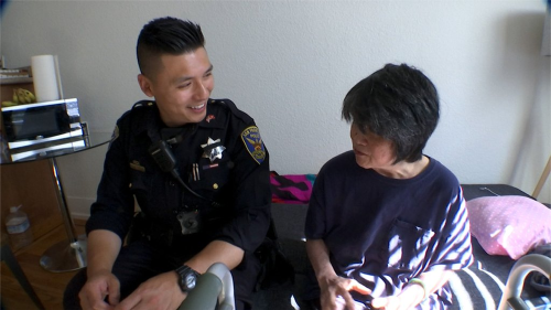 62-Year-Old Woman, Abandoned By Family, Gets Helping Hand From SF Police Officers